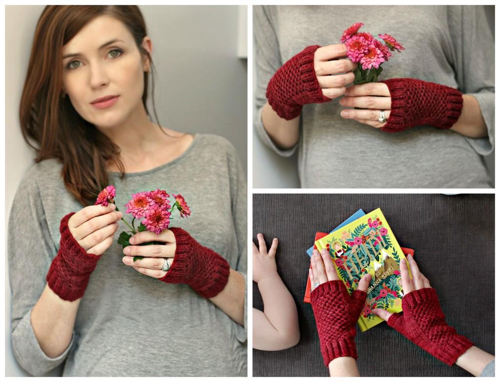 Finished Knit: Fergus Mitts   knittedbliss.com