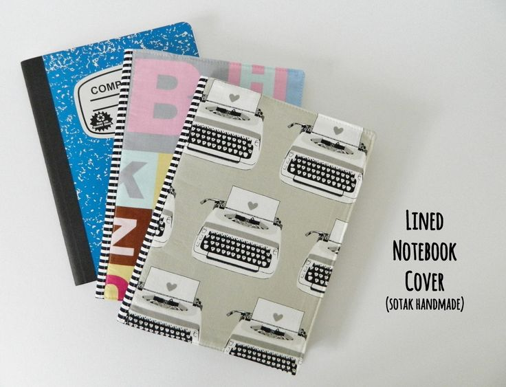 Pin Ups and Link Love: DIY Recovered Notebooks  knittedbliss.com