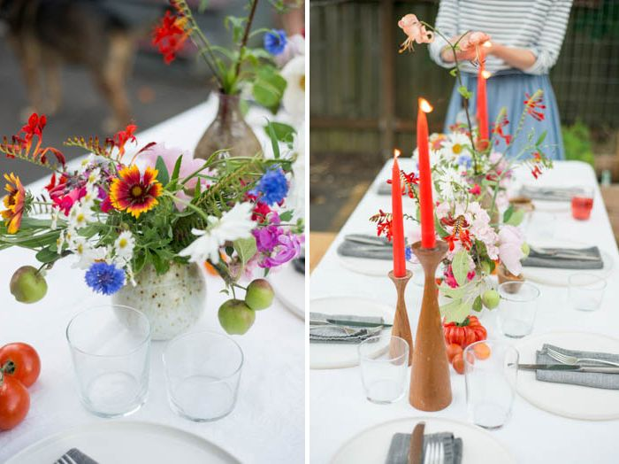 Pin Ups and Link Love: Backyard Dinner Party| knittedbliss.com