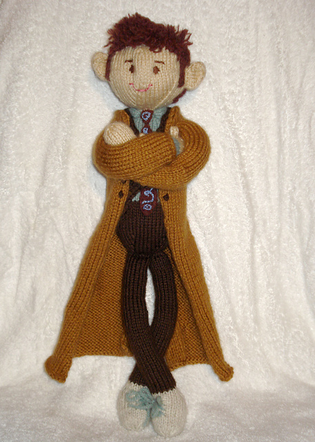 Modification Monday: The 10th Doctor | knittedbliss.com