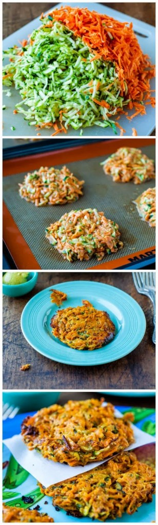 Pin Ups and Link Love: Veggie Fritters | knittedbliss.com