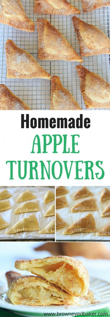 Pin Ups and Link Love: Homemade Apple Turnovers | knittedbliss.com