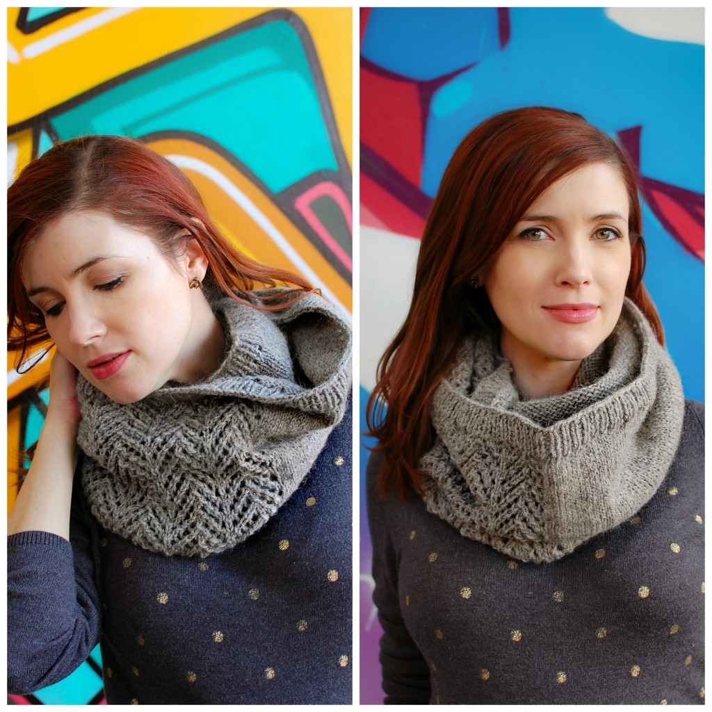 Grey Mist Cowl | knittedbliss.com