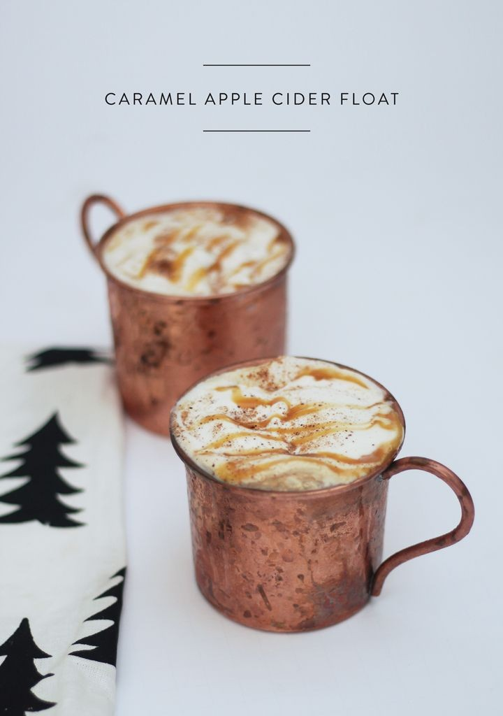 Pin Ups and Link Love: Apple Cider Float| knittedbliss.com