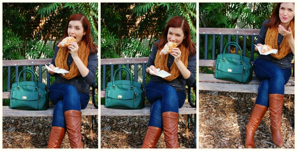 Outtakes: Jordana Paige Cora Bag | knittedbliss.com