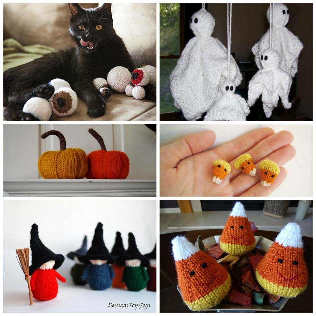 Top Ten Halloween Knitting Decorations | knittedbliss.com
