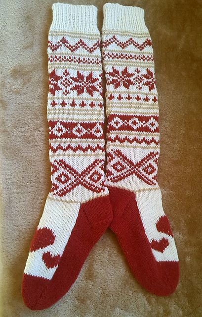 Modification Monday: slipper socks | knittedbliss.com