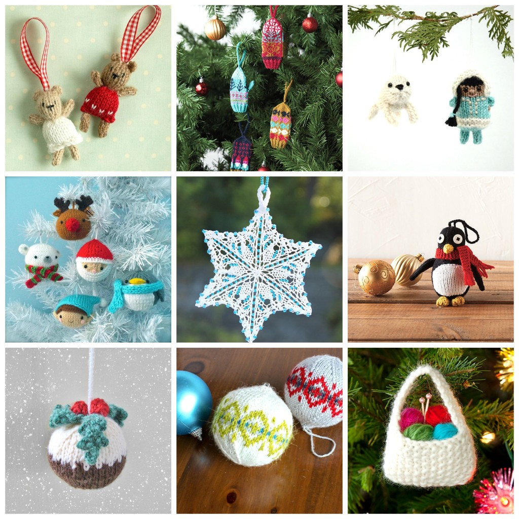Holiday Knitting: Knitted Ornaments| knittedbliss.com